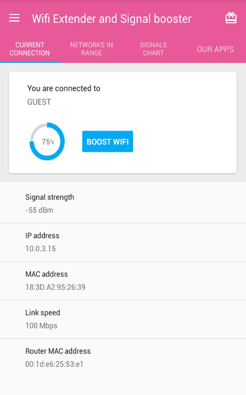 Wifi Booster And Range Extender For Android Apk Download