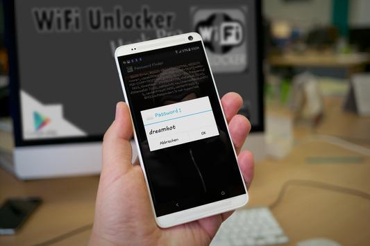 Wifi unlocker android app.