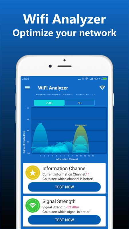 WiFi Analyzer for Android - APK Download
