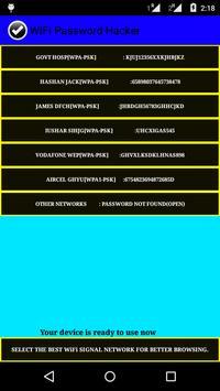 3G WiFi Password Hacker :Prank screenshot 2