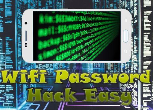 Wifi Password Hack Easy prank apk screenshot