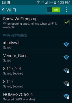 WiFi Password Hacker screenshot 1