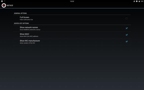 WiFiKill screenshot 4