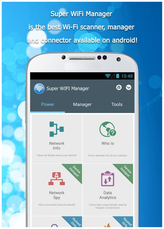 Wifi Manager Easy Connect APK Download - Free ...