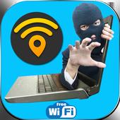 WiFi Map Password hacker Prank icon