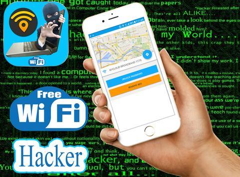 WiFi Map Password hacker Prank apk screenshot