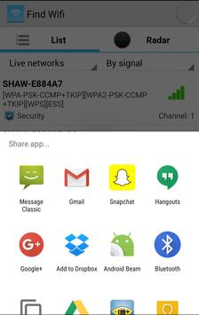 Free WiFi Connect - Find Wifi screenshot 4