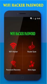 Wi-Fi Password Hacker Simulator poster