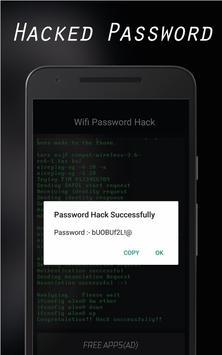 Wifi Password Hacker : Prank apk screenshot