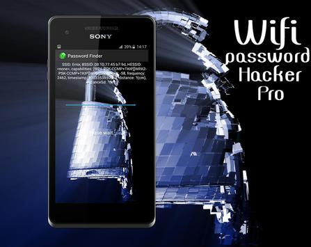 Wifi Password Hacker Pro prank poster