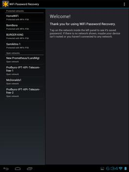 WiFi Passwords Recovery Pro تصوير الشاشة 3