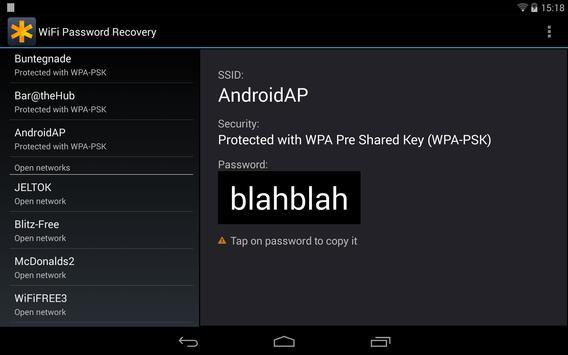 WiFi Passwords Recovery Pro تصوير الشاشة 8