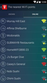Free WiFi Passwords on the Map - Wi-Fi Space apk screenshot