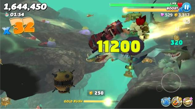 Cheat Hungry Shark World apk screenshot