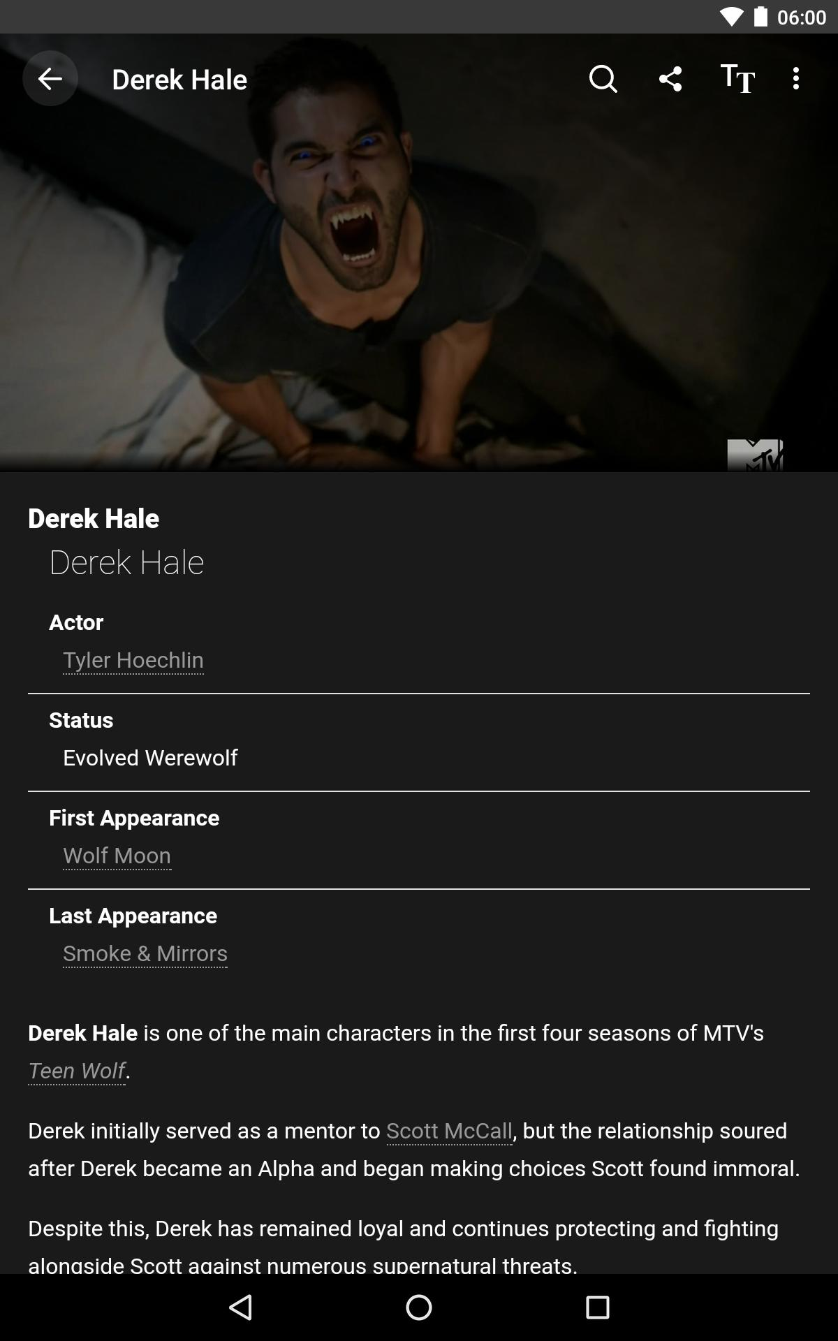 FANDOM for: Teen Wolf for Android - APK Download