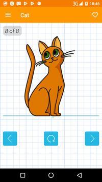 How to draw animals apk screenshot