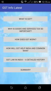 GST Info Latest poster