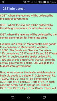 GST Info Latest screenshot 2