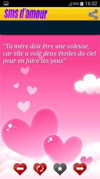SMS et message d'amour apk screenshot