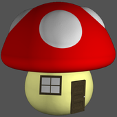 Mushroom House Guide Mario Wii icon
