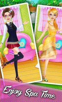 high school : dress up Fashion screenshot 1