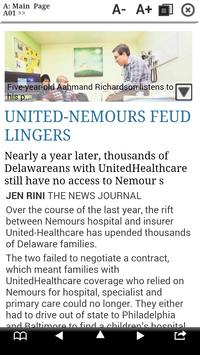 The News Journal Print Edition apk screenshot