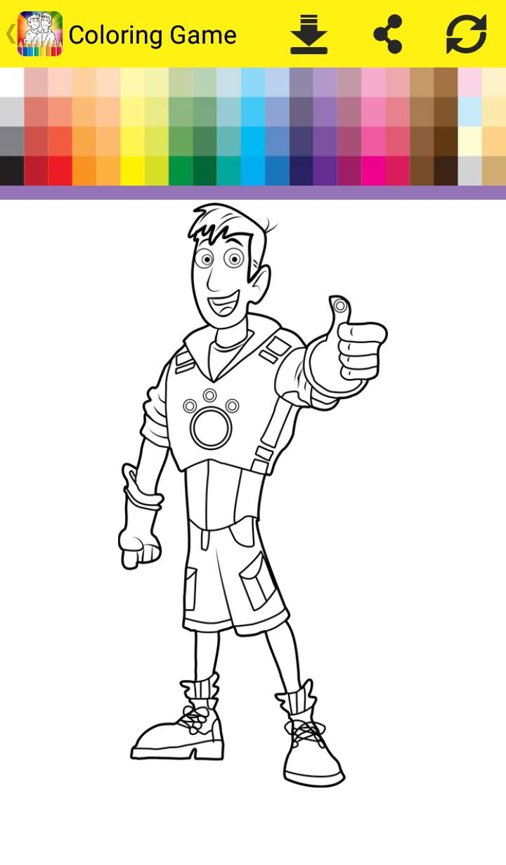 Wild Coloring Book Kratt for Android - APK Download