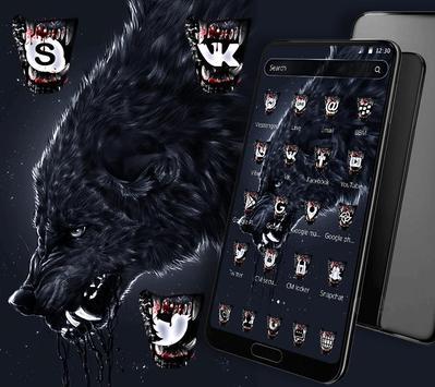 Wild Horror Wolf Theme screenshot 1