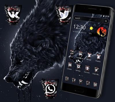 Wild Horror Wolf Theme screenshot 4