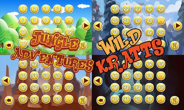 Wild Jungle Adventures Kratts poster