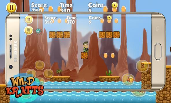 Wild Jungle Adventures Kratts apk screenshot