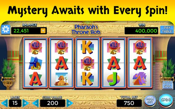 pharaoh s throne slots apk free casino for android