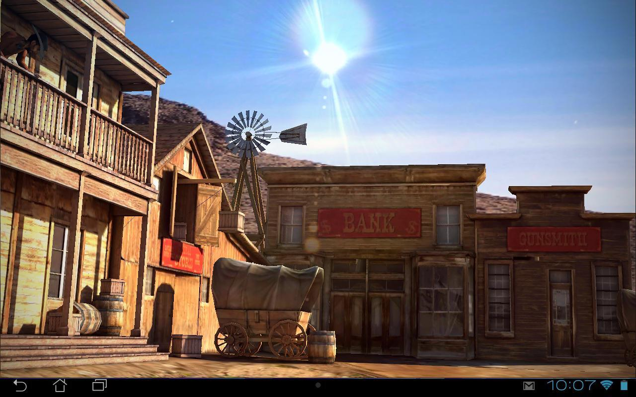 Wild West 3d Live Wallpaper For Android Apk Download