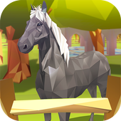 My Little Horse Farm - try a herd life simulator! icon
