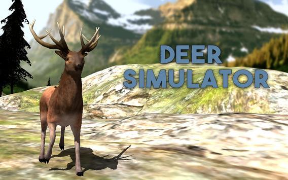 Wild Deer Simulator 3D poster