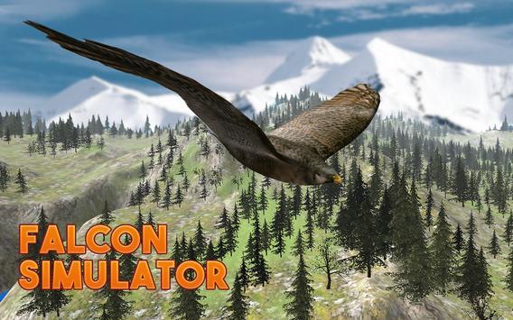 Falcon Bird Survival Simulator poster
