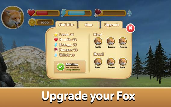 Wild Fox Simulator 2017 apk screenshot