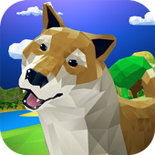 Dog Pack Simulator - survive with dog family! icon