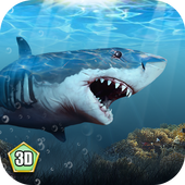 Shark Survival Simulator 3D icon
