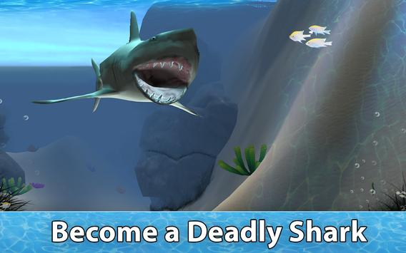 Shark Survival Simulator 3D apk screenshot