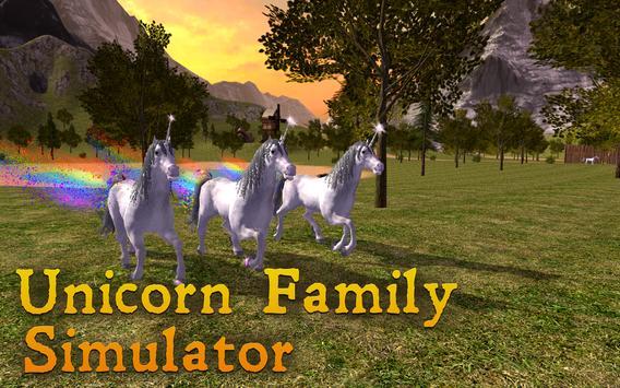 Unicorn Family Simulator apk screenshot
