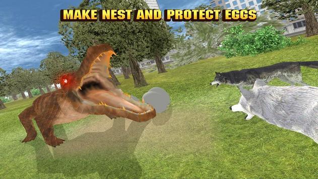 Crocodile City Attack Quest apk screenshot