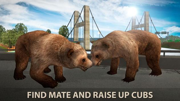 Hungry Bear City Attack Sim 3D screenshot 3