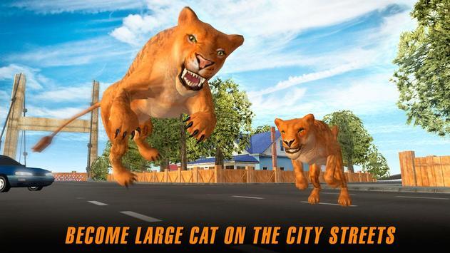 Angry Tiger City Attack Sim apk screenshot