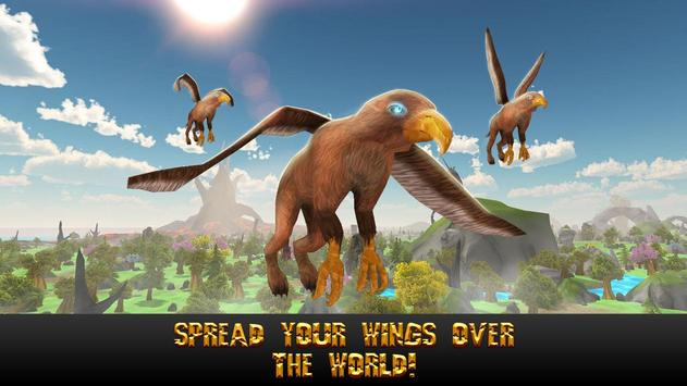 Flying Griffin Simulator 3D screenshot 9