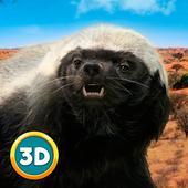 Hungry Honey Badger Simulator icon
