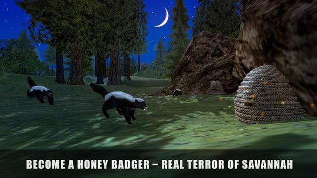 Hungry Honey Badger Simulator poster