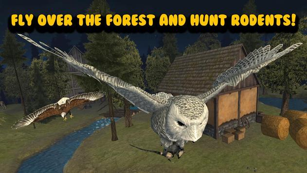 Flying Owl Simulator 3D apk screenshot