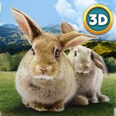 Forest Rabbit Simulator 3D icon