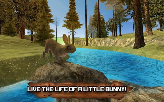 Forest Rabbit Simulator 3D poster
